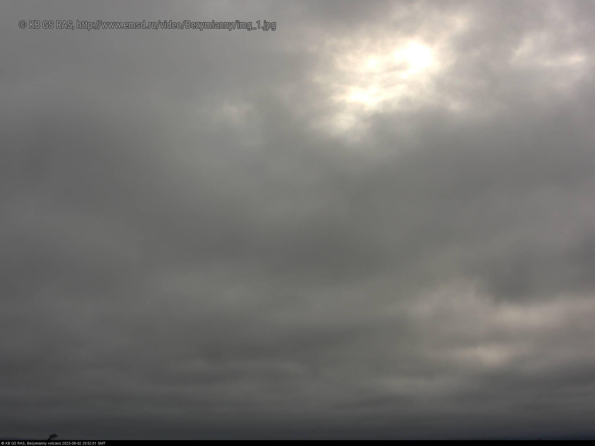 Веб-камера вулкана Безымянный